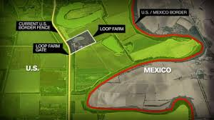 Us Mexico Border Map by Us Family Left On South Side Of Border Cnn