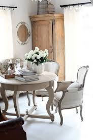 cottage vintage french decorating ideas for dining room with