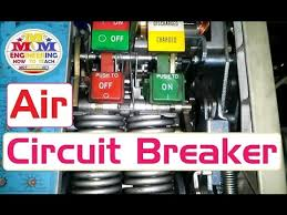air circuit breaker operating mechanism introduction and how