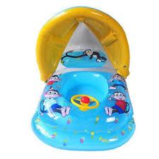 siege enfant gonflable bouée bébé enfant gonflable siège parasol feuteuil à forme de