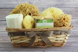 bath gift baskets sea spa bath gift basket with aloe vera cedarwood sea