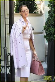 celine dion looks pretty in pink while out in paris photo 3917427