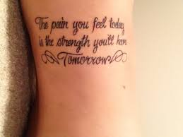 12 cancer quote tattoos
