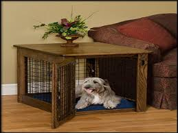 cherry wood end table homemade dog crate end table build a dog