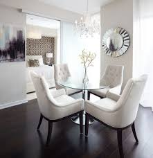 glass table chairs dining room modern with plastic dining chairs
