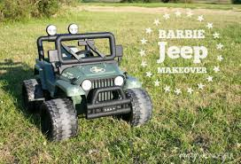matte green jeep barbie jeep makeover willy u0027s jeep crazy wonderful