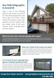 tilt up garage doors garage door repair acworth infographic