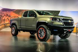 chevy concept truck chevrolet u0027s zr2 concept is the diesel powered off roader you want