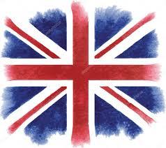 British Flag With Red Watercolor British Flag U2014 Stock Vector Mrs Opossum 34713173