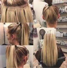 glue in extensions what are some pros and cons to hair extensions quora
