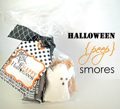 simple halloween ideas peep smores thoughtfully simple