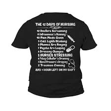 nursing shirt the 12 days of nursing shirt hoodie sweater and sleeve
