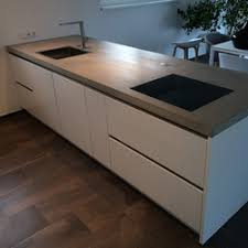 concrete kitchen design example countertops from dade design