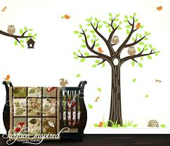 wall decal tree of tree of canvas family room