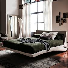 Suspended Bed by Dylan Suspended Leather Double Bed Arredaclick