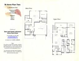 2 Story 4 Bedroom House Floor Plans by 28 2 Story Floor Plans With Garage Cottage House Plans