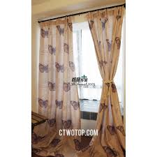 country living room curtains