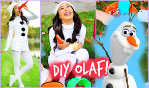 diy olaf frozen halloween costume easy and affordable youtube