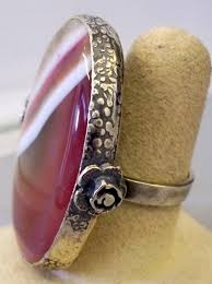 big stone rings images Sterling silver big stone ring jpg