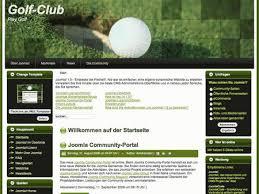 free joomla template techline golf theme 01