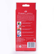 faber castell triangular colour pencils pack of 24 assorted