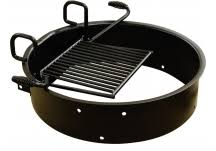 Fire Pit Ring With Grill by Park Grills U0026 Fire Rings Commercial Site Furnishings