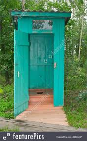 Outhouse Floor Plans by Architecture Outhouse Or Outdoor Bathroom Stock Picture