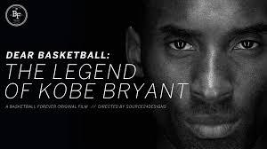 dear basketball the legend of kobe bryant retirement tribute mix