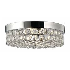 Flush Mount Chandeliers Beautiful Flush Mount Ceiling Lights Design With Crystal Lamp