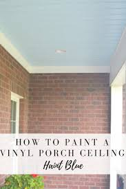 painted porch ceiling life on the bay bush