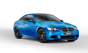 bmw introduces 2013 m3 coupe frozen limited edition now available