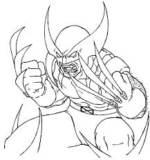 wolverine coloring pages coloringsuite com
