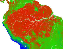 Amazon World Map by Deforestation Patterns In The Amazon Image Of The Day