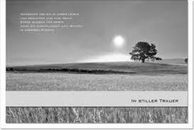 trauerkarte sprüche trauerkarte spruch ii ii text in stiller trauer 30