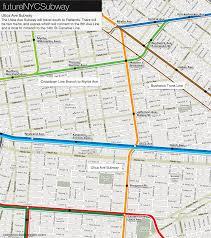 Second Ave Subway Map by The Futurenycsubway Bushwick Trunk Line U2013 Vanshnookenraggen