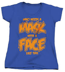 who needs a mask with a face like this halloween joke humor funny