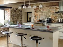 cuisine avec brique cuisine avec brique ophrey com cuisine moderne avec