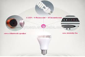 Bluetooth Light Bulb Speaker 2016 New Led Smart Light Bulb Lamp Wireless Bluetooth 4 0 Speaker