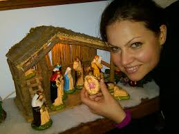i get baby jesus christmas rachel