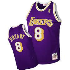 los angeles lakers kobe bryant 8 purple replica jersey sale