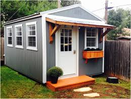 Backyard Brawlers Backyards Modern Backyard Office Derksen Portable Building