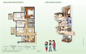 study room floor plan hero homes mohali chandigarh hero homes project in sector 88