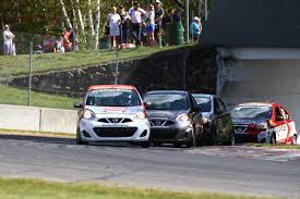 nissan canada finance mississauga 2017 championship title for olivier bedard in the nissan micra cup