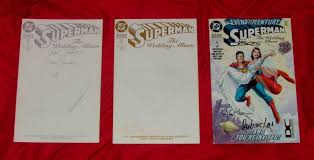 superman the wedding album comicsvalue superman the wedding album comics value