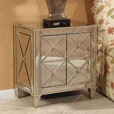 Night Stand Tables by Bedroom Furniture Modern Mirrored Accent Side Bedside Table