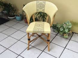 Rattan Bistro Chairs Currently Obsessed French Rattan Bistro Chair Hello Boudreau