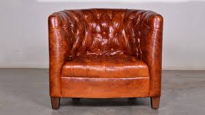 Barrel Armchair Tufted Leather Barrel Chairs Swivel Leather Barrel Chairs