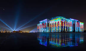 the lights fest ta 2017 light festival begins in sharjah the filipino times