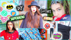 Diy Superhero Room Decor Diy Clothes Superhero Inspired Ideas Youtube
