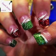22 best nails images on pinterest acrylics bow and christmas
